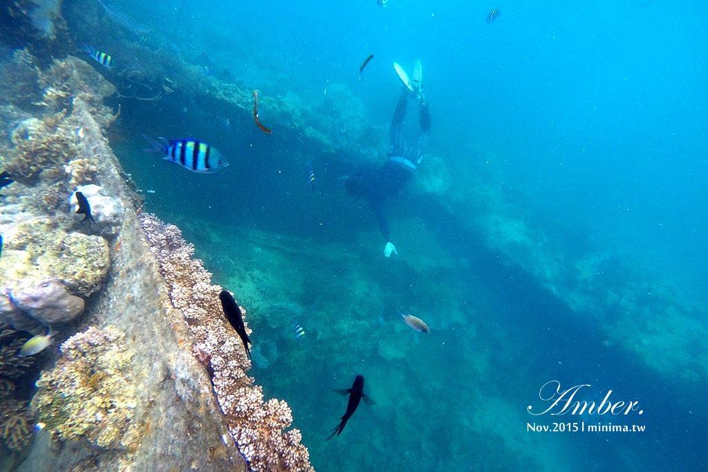 科隆島,菲律賓,浮潛,深潛,珊瑚花園,盧松砲艦沈船,帕斯島,東沈船,跳島,mini-tour,016