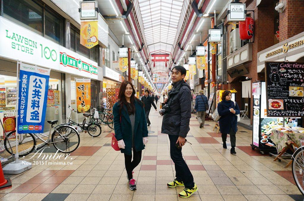 大阪必逛景點,貓頭鷹咖啡,天神橋筋,中村屋可樂餅,日本自由行,關西景點,日本旅遊102