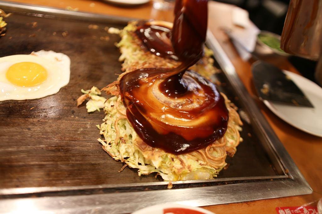 日本旅遊,關西自由行,大阪平價美食,天保山推薦美食,Market-Place,鶴橋風月,大阪燒,摩登燒,豚平燒,120