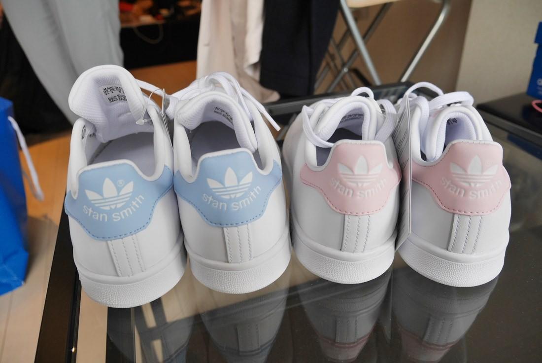 "stansmith,addidas,pink,blue"""