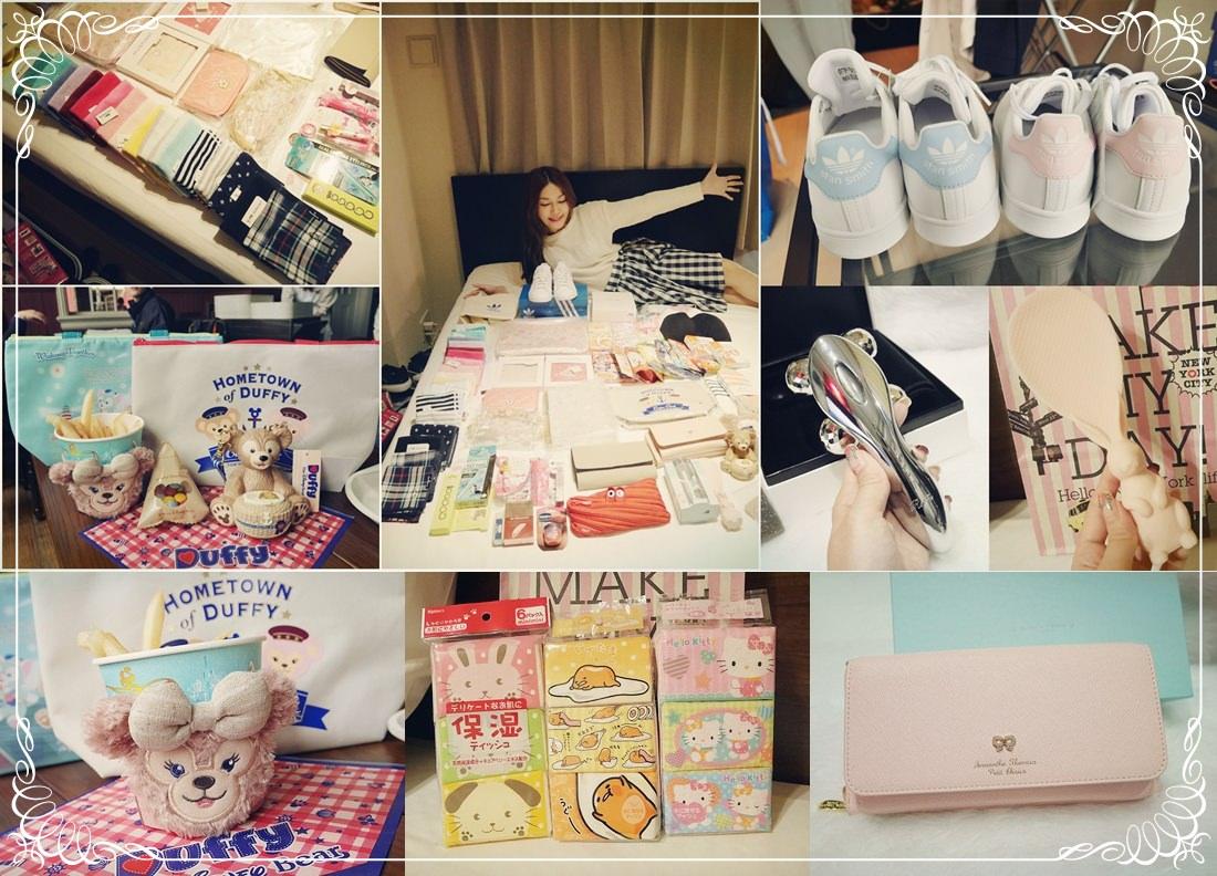 敗家 東京瘋狂血拚戰利品+迪士尼海洋樂園15周年限定商品分享♥