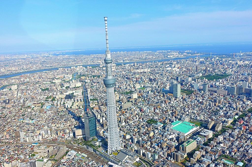 日本,東京自由行推薦行程,東京必去景點,隅田川,台場,晴空塔,東京直升機,000