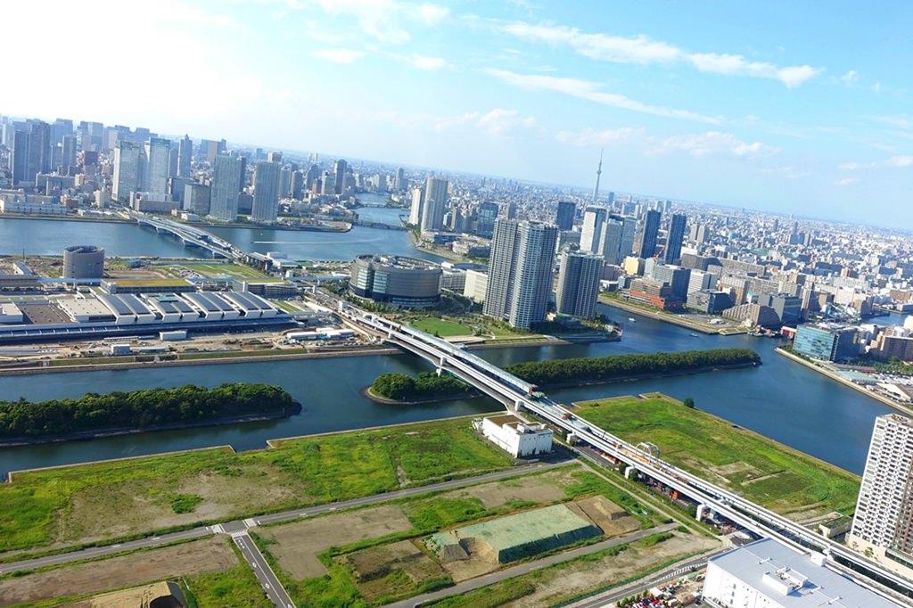 日本,東京自由行推薦行程,東京必去景點,隅田川,台場,晴空塔,東京直升機,100