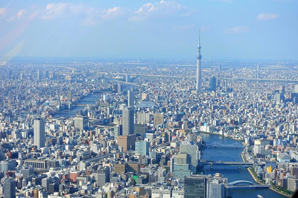 日本,東京自由行推薦行程,東京必去景點,隅田川,台場,晴空塔,東京直升機,110