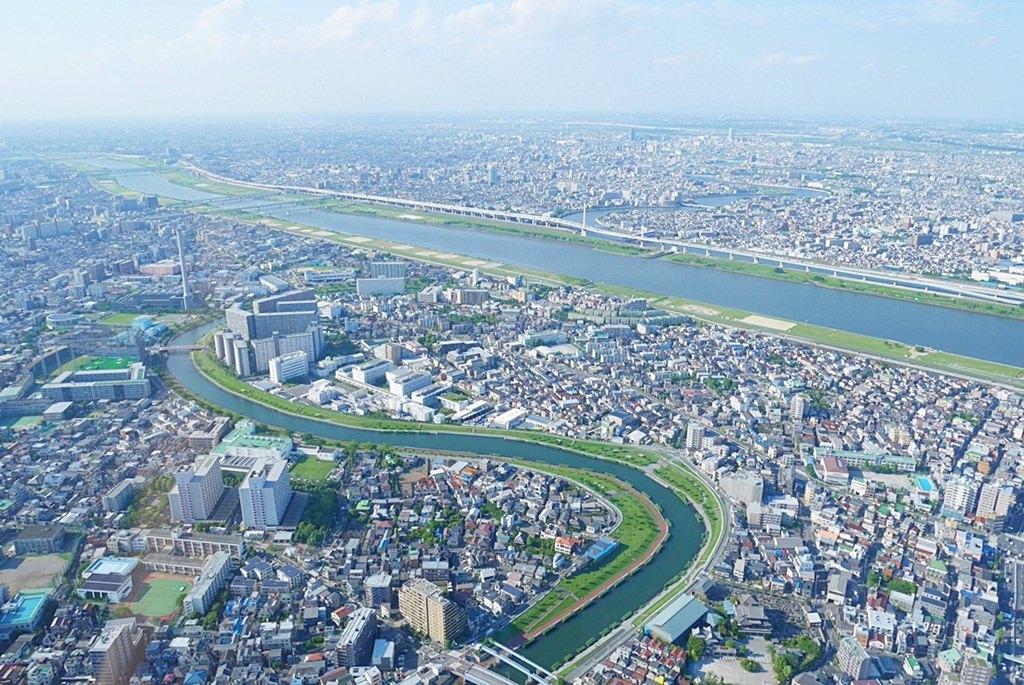 日本,東京自由行推薦行程,東京必去景點,隅田川,台場,晴空塔,東京直升機,120