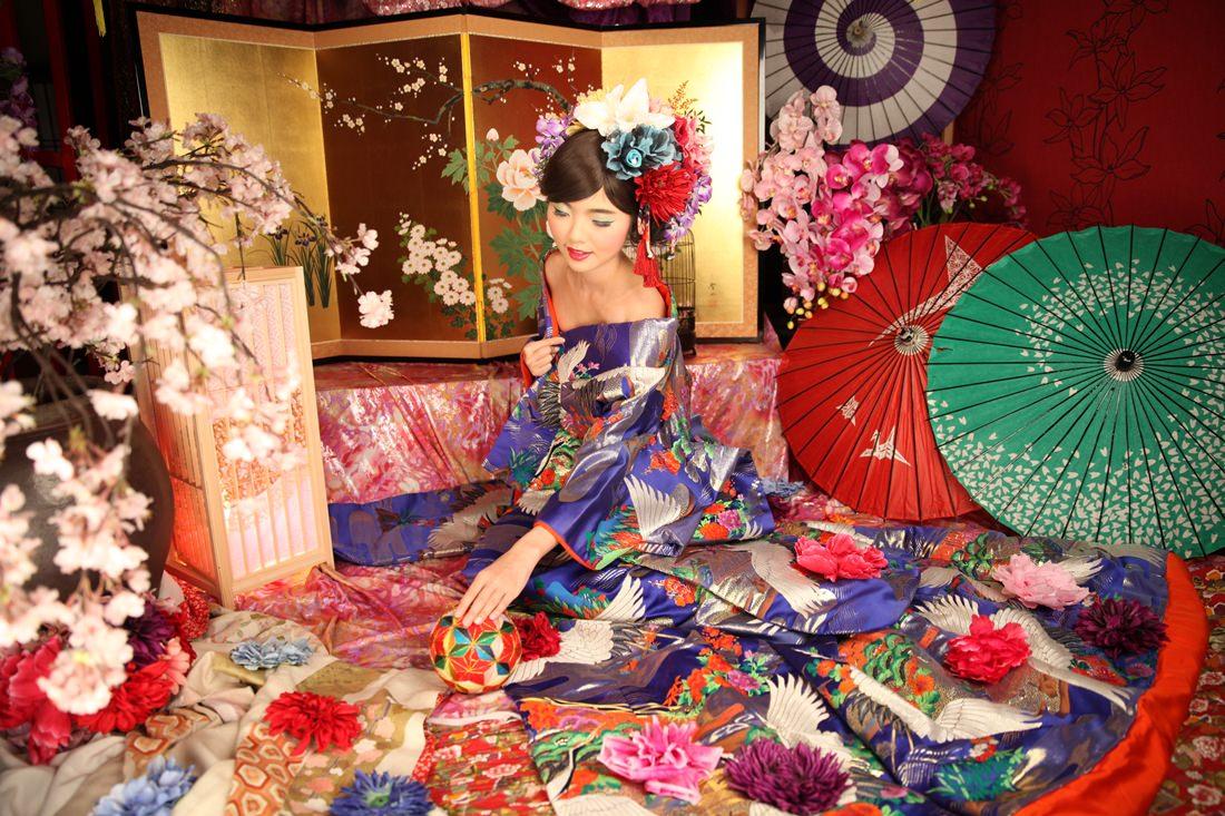 京都推薦行程,日本專業攝影,花魁體驗,花魁服裝造型,變身寫真館,Angelle,116
