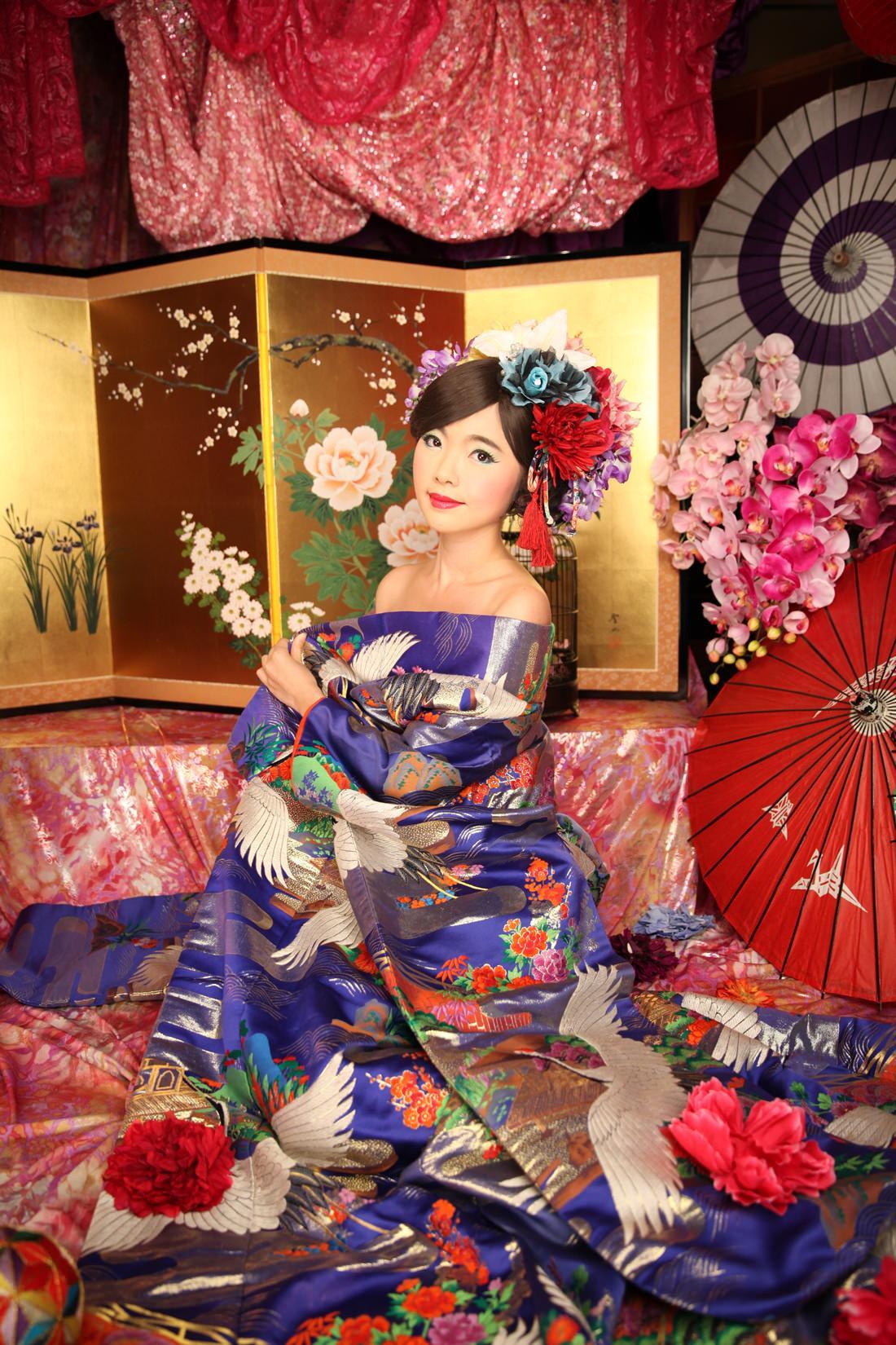 京都推薦行程,日本專業攝影,花魁體驗,花魁服裝造型,變身寫真館,Angelle,118
