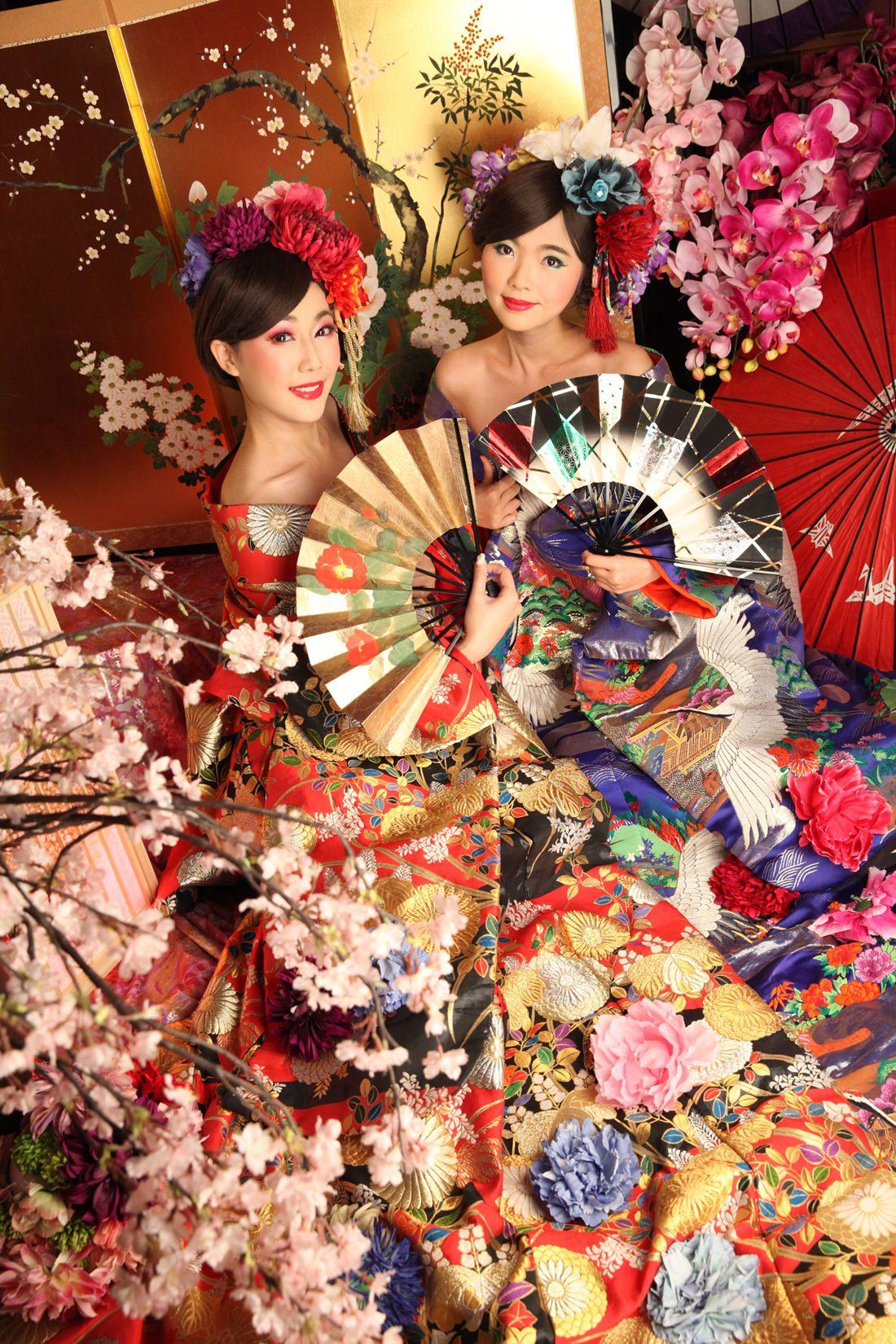 京都推薦行程,日本專業攝影,花魁體驗,花魁服裝造型,變身寫真館,Angelle,122