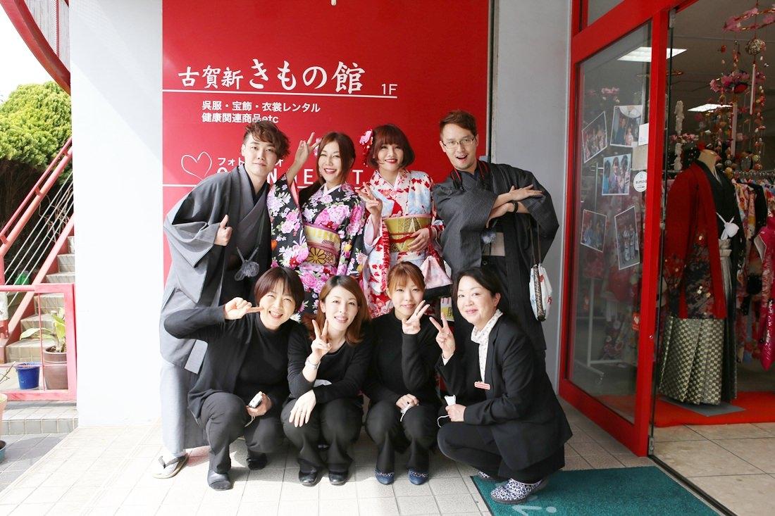 柳川遊船,九州自由行,九州和服租借,openheart和服,九州自駕,福岡旅遊,小振袖和服